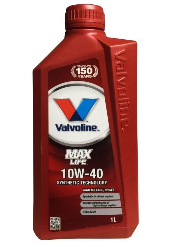 Valvoline Max Life 10w40